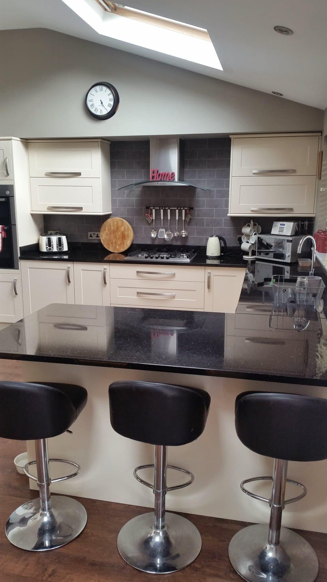 modern kitchen installation in east sussex